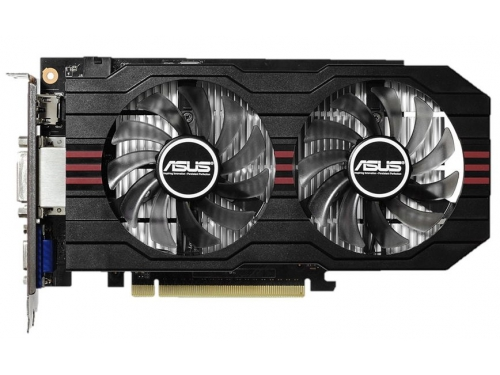 Видеокарта GeForce ASUS GeForce GTX 750 Ti 1072Mhz PCI-E 3.0 2048Mb 5400Mhz 128 bit 2xDVI HDMI HDCP, вид 2