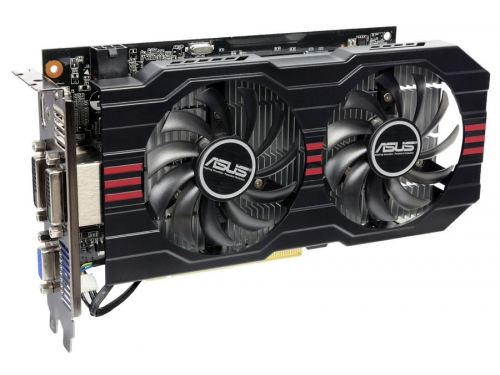 Видеокарта GeForce ASUS GeForce GTX 750 Ti 1072Mhz PCI-E 3.0 2048Mb 5400Mhz 128 bit 2xDVI HDMI HDCP, вид 3