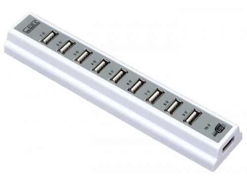 USB-концентратор CBR CH-310, белый, вид 1