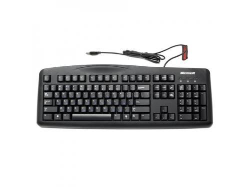 Клавиатура Microsoft Wired Keyboard 200 Black USB (JWD-00002), вид 1