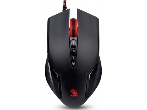 Мышка A4Tech Bloody V5M game mouse Black, вид 1