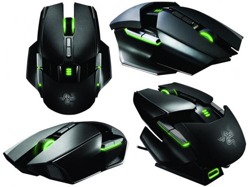 Мышка Razer Ouroboros Black USB, вид 3