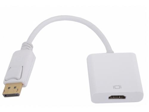 Кабель (шнур) Кабель-переходник  DisplayPort(M) - HDMI(F) 0.1m VCOM {CG553}, вид 1