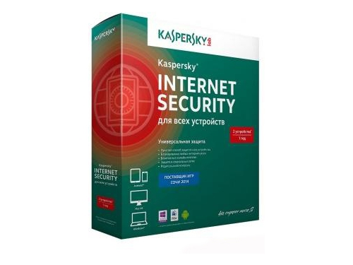 ��������� Kaspersky Internet Security Multi-Device Russian Ed. 2-Device 1 year