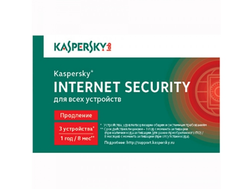 Программа Kaspersky Internet Security Multi-Device Russian Ed., вид 1
