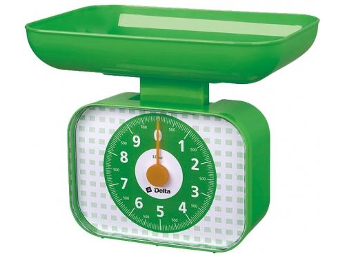 Кухонные весы Delta КСА-105, зеленые, вид 1