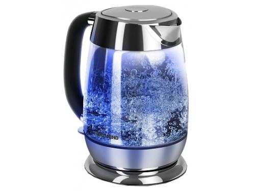 Чайник электрический Redmond RK-G151, черный, вид 1