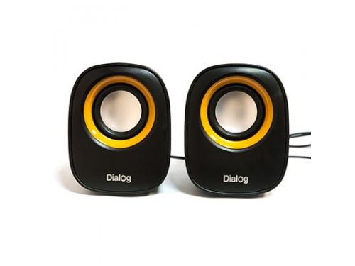 Компьютерная акустика Dialog AC-06UP, черная, вид 1