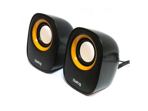 Компьютерная акустика Dialog AC-06UP, черная, вид 2