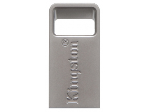 Usb-флешка Kingston DataTraveler Micro 3.1 128GB, серебристая, вид 2