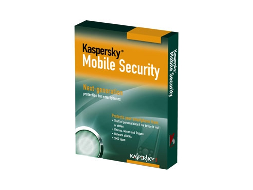 Программа-антивирус Kaspersky Mobile Security 8.0 Russian Ed. 1 year DVD box, вид 1
