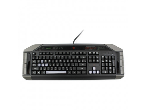 Клавиатура Mad Catz Cyborg V.7 Keyboard Black-Grey USB, вид 3