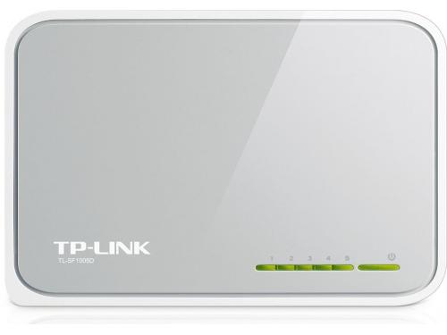 Коммутатор (switch) TP-LINK TL-SF1005D, вид 1