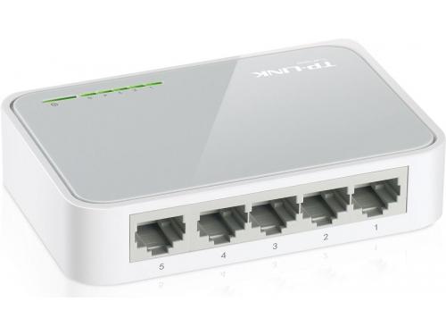 Коммутатор (switch) TP-LINK TL-SF1005D, вид 2