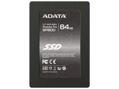 Жесткий диск ADATA Premier Pro SP600 64GB, вид 1