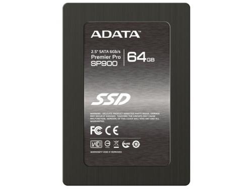 Жесткий диск ADATA Premier Pro SP900 64GB, вид 1