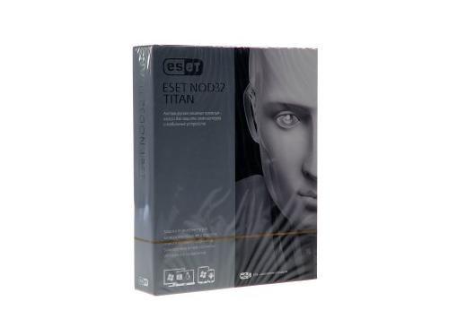 Программа-антивирус ESET NOD32 TITAN version 2 – 1год/3ПК и 1 мобильного устройства, вид 1