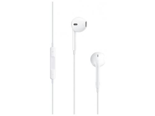 Гарнитура для телефона Apple EarPods MD827ZM/B, белая, вид 1