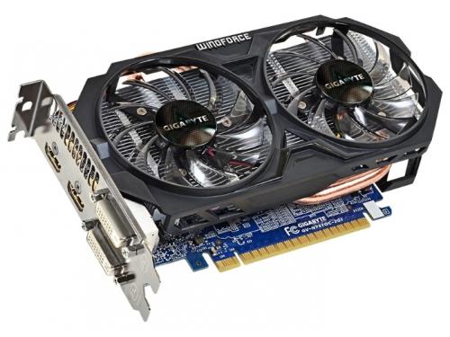 Видеокарта GeForce Gigabyte PCI-E NV GV-N75TOC-2GI GTX750 Ti 2048MB DDR5 128bit, вид 2