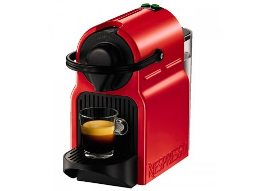 Кофемашина Nespresso Krups Inissia XN100510, красная, вид 1