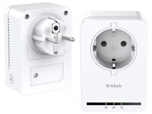 PowerLine-адаптер D-Link DHP-P309AV/C1A, вид 1