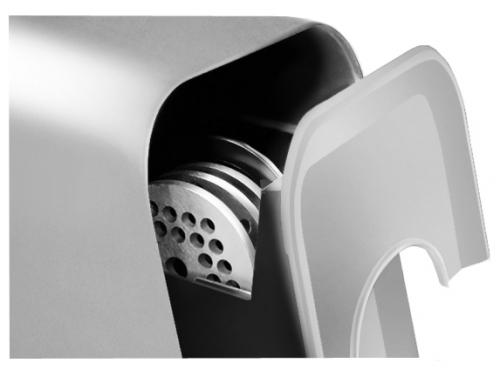 Мясорубка Redmond RMG-1217, серебро, вид 1