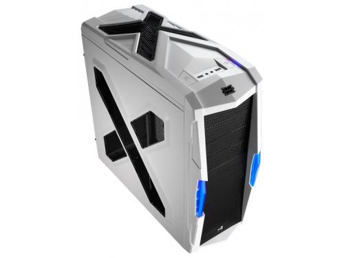 Корпус Aerocool Strike-X Xtreme White Edition, w/o PSU ATX 2*USB 3.0 1х 18см и 1х 14см красные LED, 1х 12см, вид 1