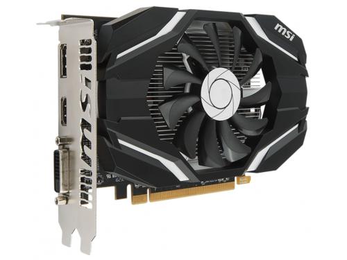 Видеокарта Radeon MSI Radeon RX 460 1210Mhz PCI-E 3.0 4096Mb 7000Mhz 128 bit DVI HDMI HDCP, 4G OC, вид 2