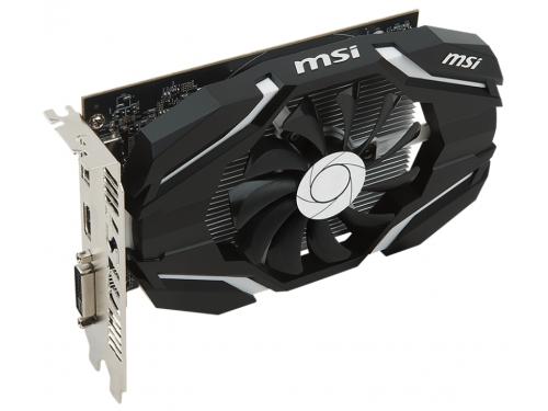 Видеокарта Radeon MSI Radeon RX 460 1210Mhz PCI-E 3.0 4096Mb 7000Mhz 128 bit DVI HDMI HDCP, 4G OC, вид 3