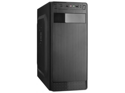 Корпус компьютерный ExeGate AB-222 400W, черный, вид 1