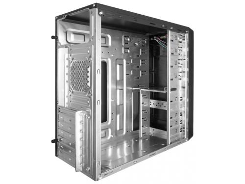 Корпус компьютерный ExeGate AB-222 400W, черный, вид 2