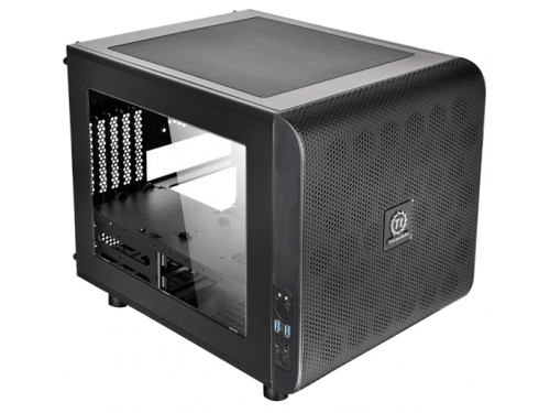 Корпус Thermaltake Core V21 CA-1D5-00S1WN-00, чёрный, вид 1