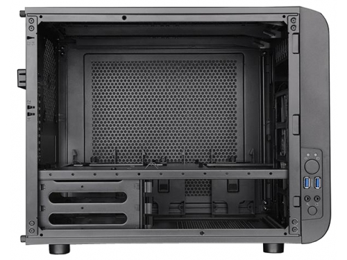 Корпус Thermaltake Core V21 CA-1D5-00S1WN-00, чёрный, вид 4