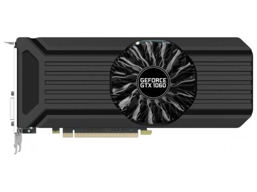 Видеокарта GeForce Palit GeForce GTX 1060 1506Mhz PCI-E 3.0 6144Mb 8000Mhz 192 bit DVI HDMI HDCP StormX, NE51060015J9-1061F, вид 1