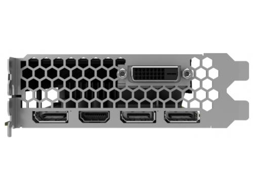 Видеокарта GeForce Palit GeForce GTX 1060 1506Mhz PCI-E 3.0 6144Mb 8000Mhz 192 bit DVI HDMI HDCP StormX, NE51060015J9-1061F, вид 4