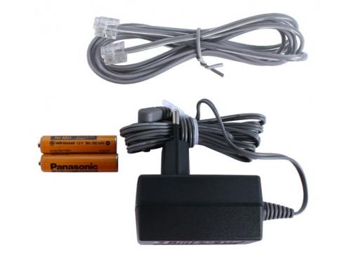 Радиотелефон Panasonic KX-TG2511RUN, платиновый, вид 2