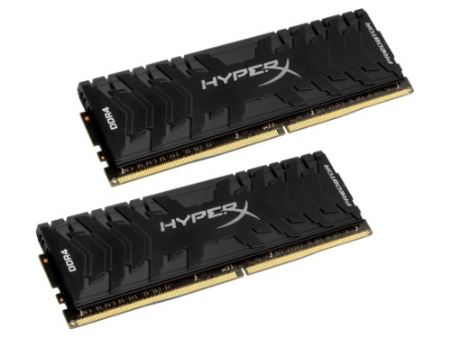 Модуль памяти Kingston HyperX Predato DDR4 16Gb, 3333MHz 2*8Gb, вид 1