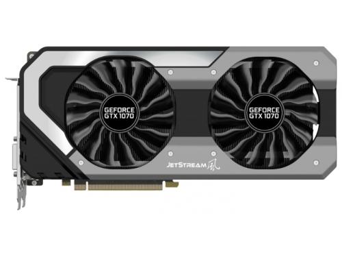 Видеокарта GeForce Palit GeForce GTX 1070 1632Mhz PCI-E 3.0 8192Mb 8000Mhz 256 bit DVI HDMI HDCP, вид 1