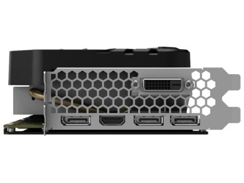 Видеокарта GeForce Palit GeForce GTX 1070 1632Mhz PCI-E 3.0 8192Mb 8000Mhz 256 bit DVI HDMI HDCP, вид 5