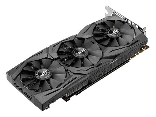 Видеокарта GeForce ASUS PCI-E NV STRIX-GTX1080-8G-GAMING GTX1080 8192Mb 256b DDR5X, вид 3