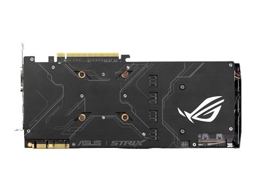 Видеокарта GeForce ASUS PCI-E NV STRIX-GTX1080-8G-GAMING GTX1080 8192Mb 256b DDR5X, вид 4
