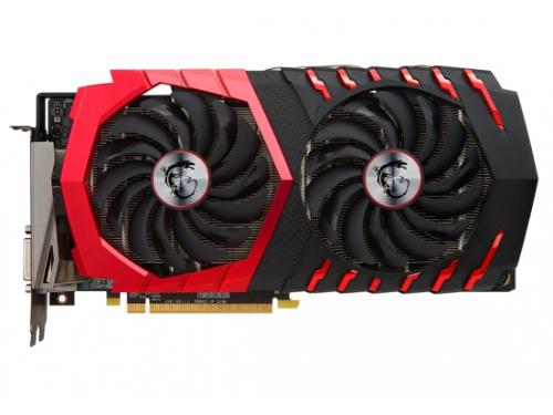 Видеокарта GeForce MSI Radeon RX 480 1303Mhz PCI-E 3.0 8192Mb 8000Mhz 256 bit HDMI HDCP, RX 480 GAMING X 8G, вид 1