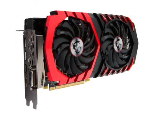 Видеокарта GeForce MSI Radeon RX 480 1303Mhz PCI-E 3.0 8192Mb 8000Mhz 256 bit HDMI HDCP, RX 480 GAMING X 8G, вид 2