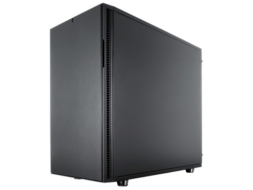 Корпус Fractal Design Define R5 Blackout Edition Black (FD-CA-DEF-R5-BKO), вид 1