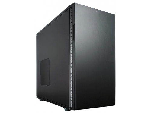 Корпус Fractal Design Define R5 Blackout Edition Black (FD-CA-DEF-R5-BKO), вид 2