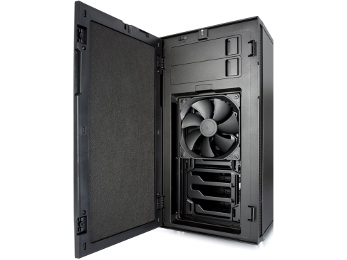 Корпус Fractal Design Define R5 Blackout Edition Black (FD-CA-DEF-R5-BKO), вид 8