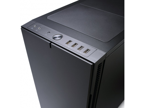 Корпус Fractal Design Define R5 Blackout Edition Black (FD-CA-DEF-R5-BKO), вид 10