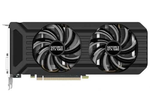 Видеокарта GeForce Palit PCI-E NV GTX1060 Dual 6144Mb 192b DDR5 D-DVI+HDMI, вид 1