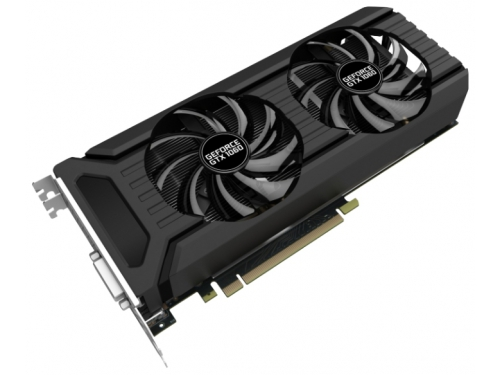 Видеокарта GeForce Palit PCI-E NV GTX1060 Dual 6144Mb 192b DDR5 D-DVI+HDMI, вид 2