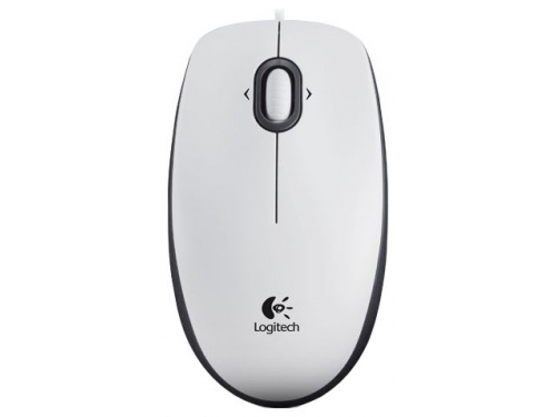 Мышь Logitech Mouse M100 White USB, вид 1